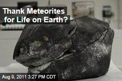 Meteorites Hold Elements of DNA; May Be Key to Origins of Life on Earth