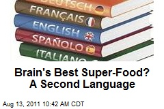 Brain's Best Super-Food? A Second Language