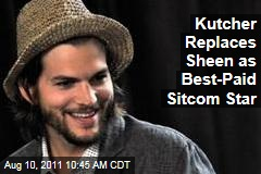 Ashton Kutcher Replaces Charlie Sheen as Highest-Paid Sitcom Star