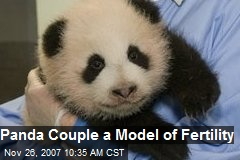 Panda Couple a Model of Fertility