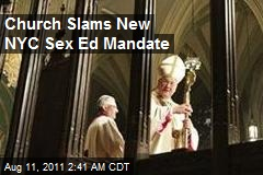 Church Slams New NYC Sex Ed Mandate