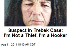 Alex Trebek Robbery Suspect: I'm a Prostitute, Not a Thief, Insists Lucinda Moyers