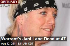 Warrant Singer Dead: Jani Lane Found in LA Motel