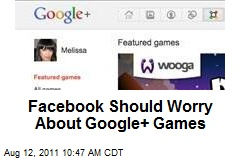 Facebook Should Worry About Google+ Games