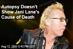 Autopsy Doesn't Reveal Cause of Death for Warrant Singer Jani Lane