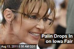 Sarah Palin Hits Iowa State Fair as GOP Candidates Descend on Ames