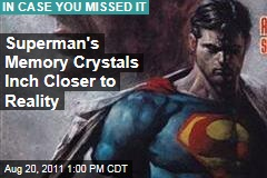 Superman's Memory Crystals Inch Closer to Reality--as Glass Hard Drives