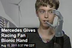 Mercedes Gives Racing Fan Bionic Hand