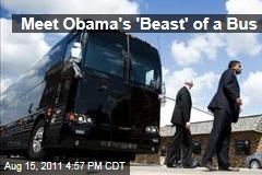 The Secret Service Pimps Obama's Bus Ride