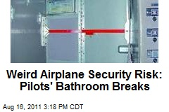 Weird Airplane Security Risk: Pilots' Bathroom Breaks