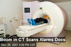 Boom in CT Scans Alarms Docs