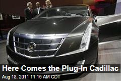 Plug-In Cadillac ELR, Based on Converj, Announced by GM