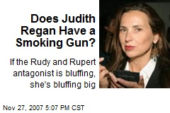 Does Judith Regan Have a Smoking Gun?