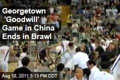 Georgetown Basketball, Joe Biden See Fisticuffs in China