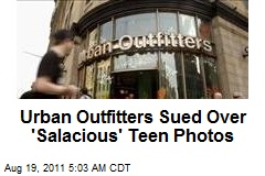 Urban Outfitters Sued Over 'Salacious' Teen Photos