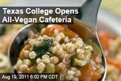University of North Texas Opens All-Vegan Cafeteria