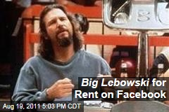 'The Big Lebowski' for Rent on Facebook