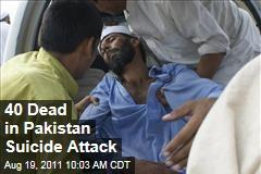 Pakistan Suicide Bomb: Attack on Mosque Kills 40
