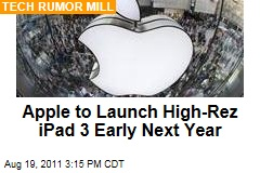 Apple Working on iPad 3
