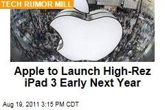Apple Working on iPad 3