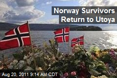 Norway Survivors Return to Utoya