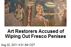 Italian Restorers Accused of Wiping Out Fresco Penises