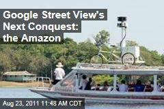 Google Street View's Next Conquest: the Amazon River