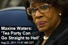 Maxine Waters: 'Tea Party Can Go Straight to Hell'