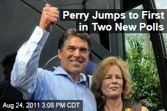 Election 2012: Rick Perry Jumps to First in Gallup, Public Policy Polling Polls