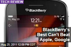 David Pogue: Blackberry 9900 No Match for Apple iPhone, Google Android