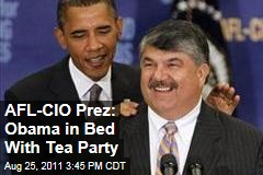 AFL-CIO President Richard Trumka: Barack Obama Siding With Tea Party