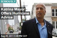 Former New Orleans Mayor Ray Nagin Advises East Coast on Hurricane Irene