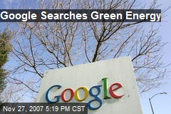 Google Searches Green Energy