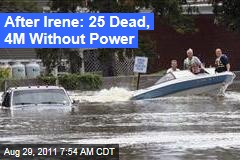 Irene Cleanup Could Take Days Along East Coast