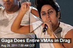 VIDEOS: Lady Gaga Does Entire MTV Video Music Awards as Male Alter Ego 'Jo Calderone'