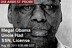 Illegal Obama Uncle Obama Onyango Probed After DUI Arrest