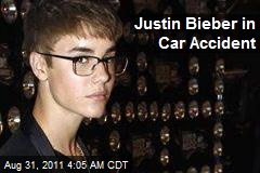 Justin Bieber in Car Accident