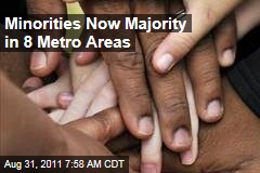 Census Data: Minorities Now Majority in 8 Metro Areas