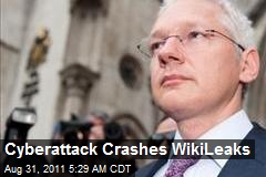 Cyberattack Crashes WikiLeaks