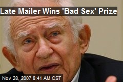 Late Mailer Wins 'Bad Sex' Prize
