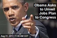 President Obama to Address Congress Sept. 7 to Lay Out His Jobs Plan