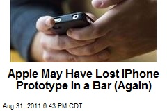 Apple May Have Lost iPhone Prototype in a Bar (Again)