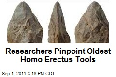 Researchers Pinpoint Oldest Homo Erectus Tools