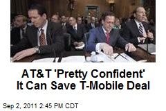 AT&T 'Pretty Confident' It Can Save T-Mobile Deal