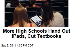More US Schools Add iPads, Cut Back Textbooks