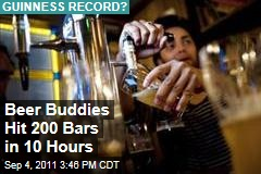 New York Beer Drinkers Hit 200 Pubs to Beat Guinness World Record