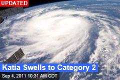 Katia Regains Hurricane Status