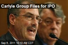 Carlyle Group Files for IPO
