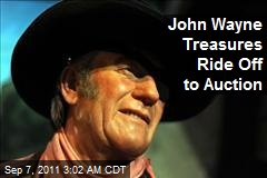 John Wayne Treasures Ride Off to Auction