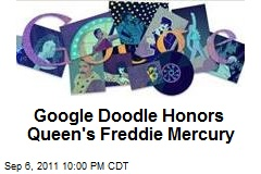 Google Doodle Honors Queen's Freddie Mercury